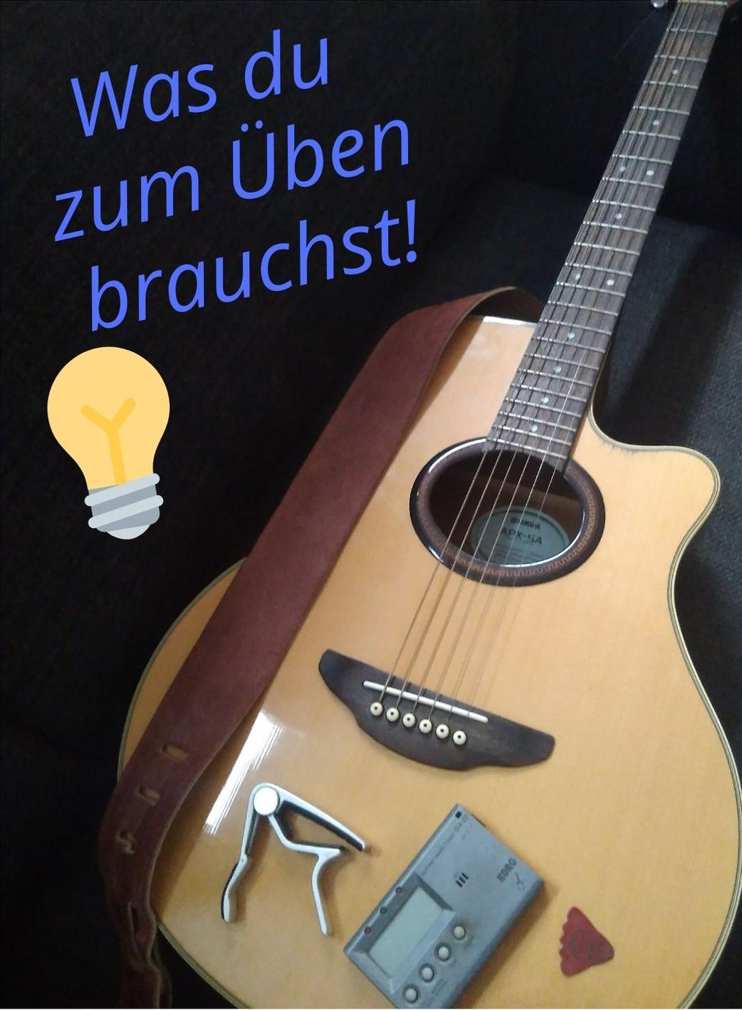 Gitarre & Zubehör - ein Überblick